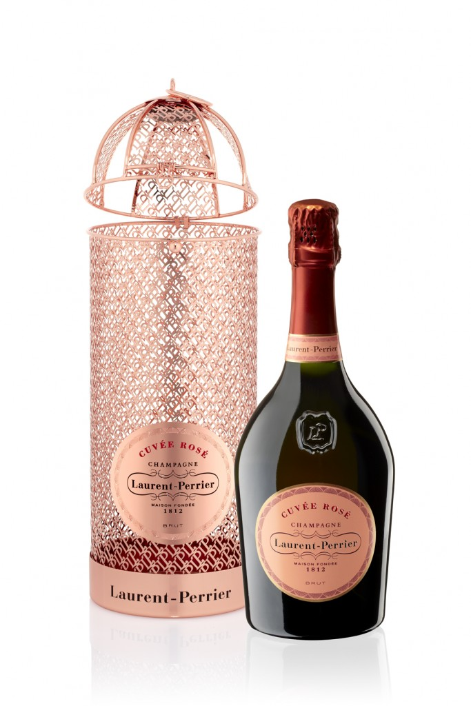 Laurent-Perrier Cuvée Rosé has treated itself to a new and limited edition collector's box -
