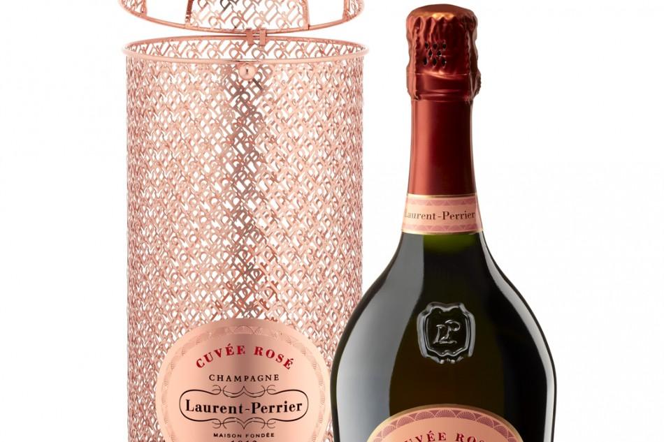 Laurent-Perrier Cuvée Rosé gold lace limited edition