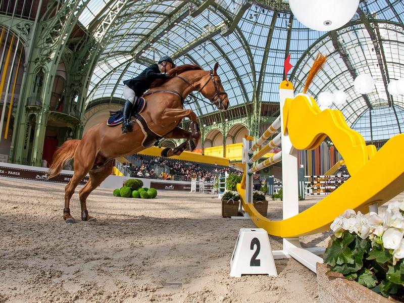 Le Saut Hermes competition-