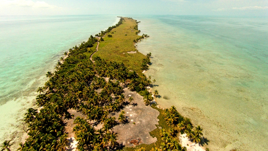 Leonardo di Caprio Eco-Resort Belize