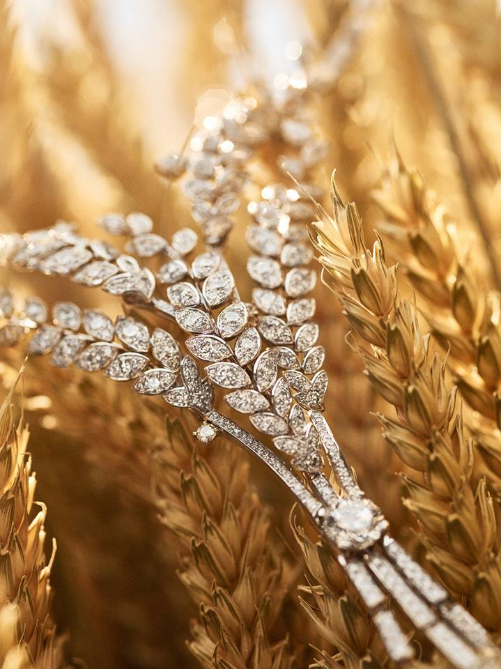Les Blés de CHANEL, a new High Jewelry Collection inspired by wheat-2016-