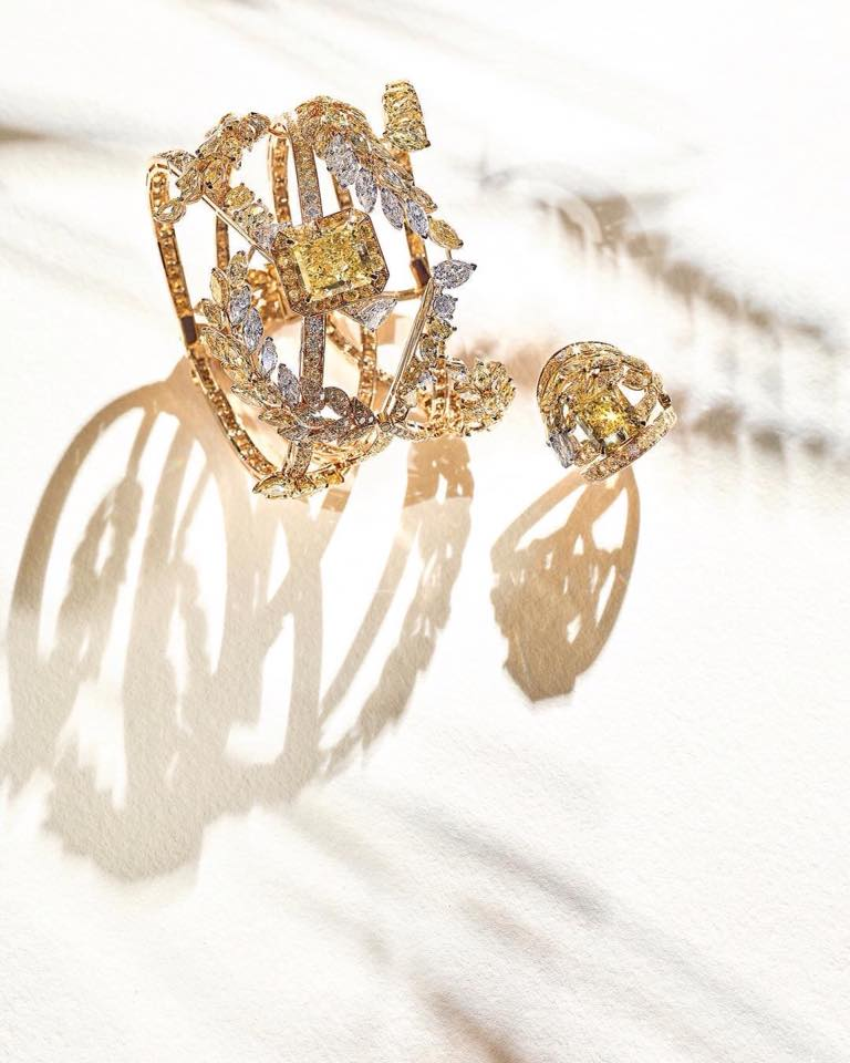 Les Blés de CHANEL, a new High Jewelry Collection inspired by wheat-2016--0