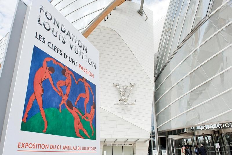 Les Clefs d'une passion - Keys to a Passion exhibition at Foundation Louis Vuitton