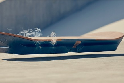 #LexusHover with magnetic levitation: One of the most advanced Hoverboards ever developed