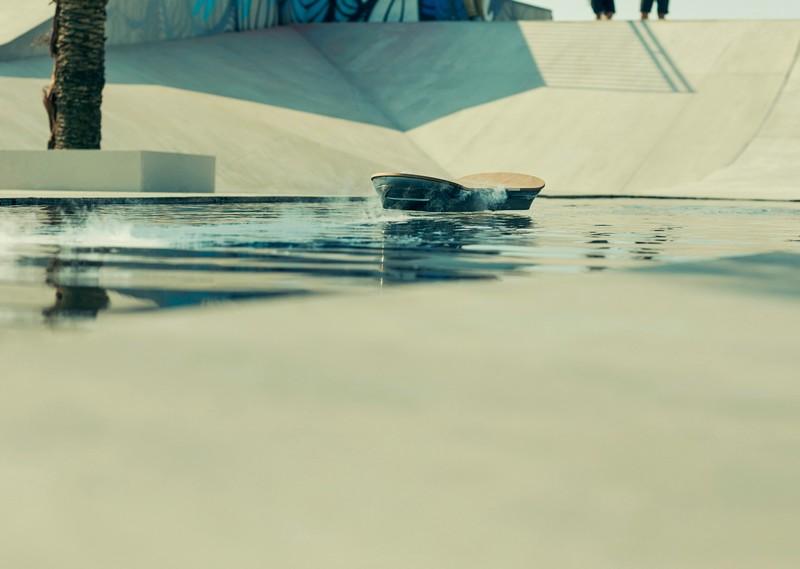 Lexus Hoverboard shown travelling across water in new film 'SLIDE'