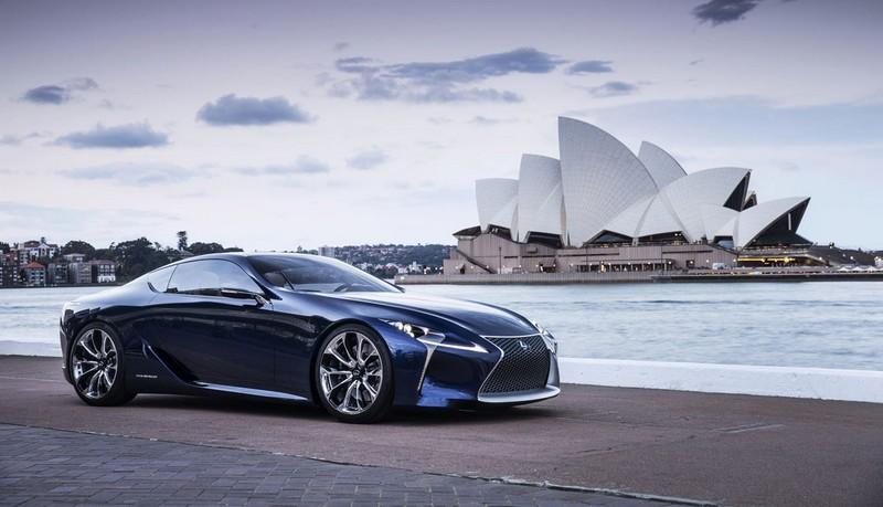 Lexus LC 500h-photos