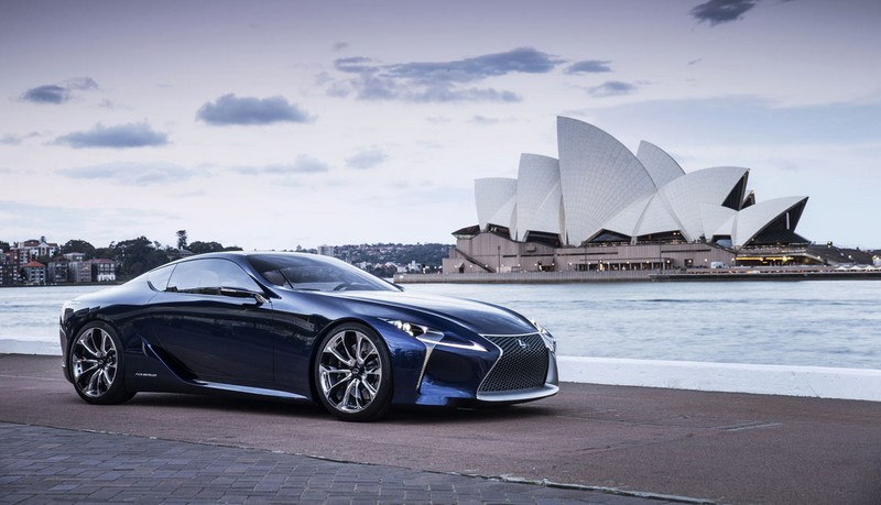 Lexus LC 500h-photos