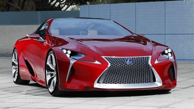 Lexus LC 500photosred