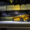 Lexus LF-C2 Concept Explores Design and Debuts at Los Angeles Auto Show-gold rush