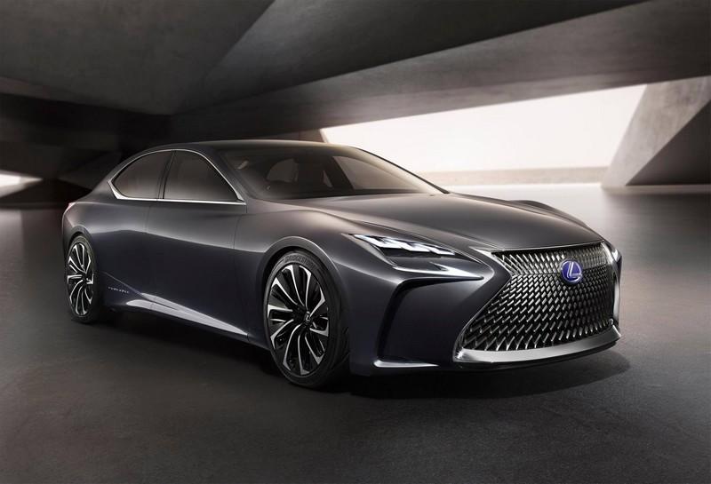 Lexus LF-FC Fuel Cell concept car-