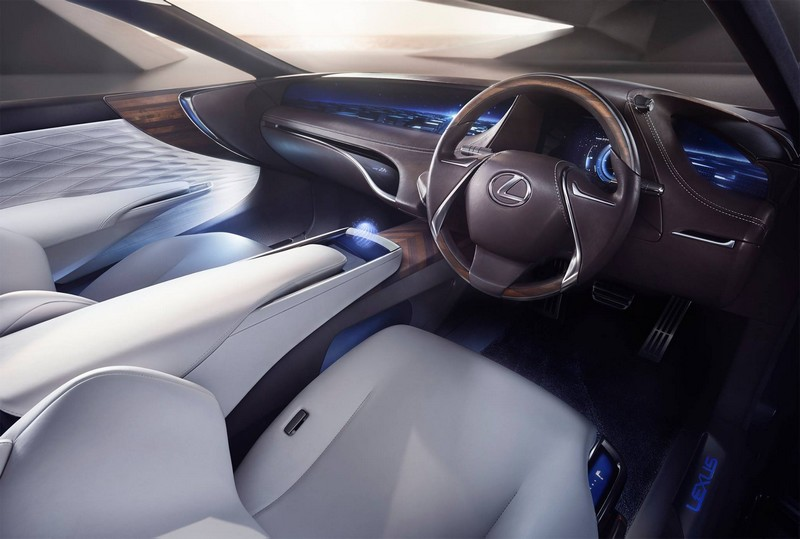 Lexus LF-FC Fuel Cell concept car--