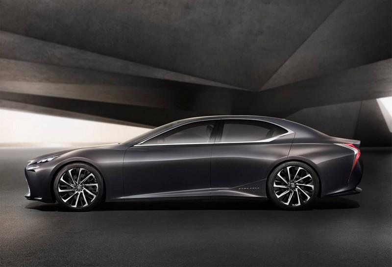 Lexus LF-FC Fuel Cell concept car--2015