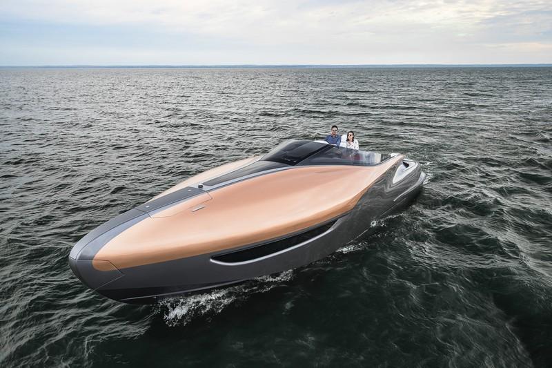Lexus Sport Yacht Concept 2017-a stylish premium performance yacht