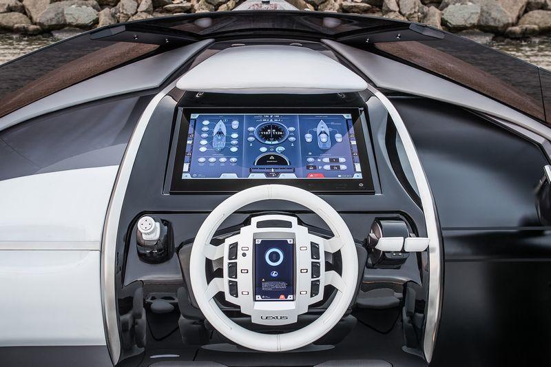 Lexus Sport Yacht Concept cockpit