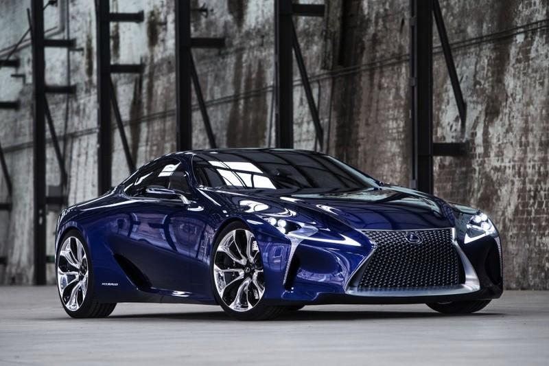 Lexus at geneva motor show