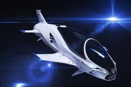 Lexus' 28th Century Spacecraft SKYJET