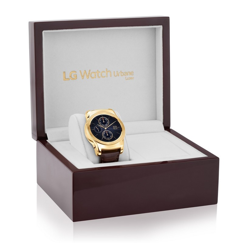 Limited Edition LG Watch Urbane Luxe is More Jewelry Than Wearable