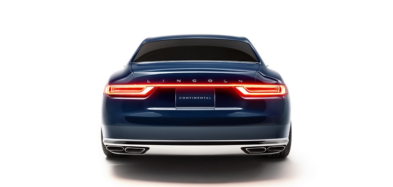 Lincoln Continental 2015 concept car debut