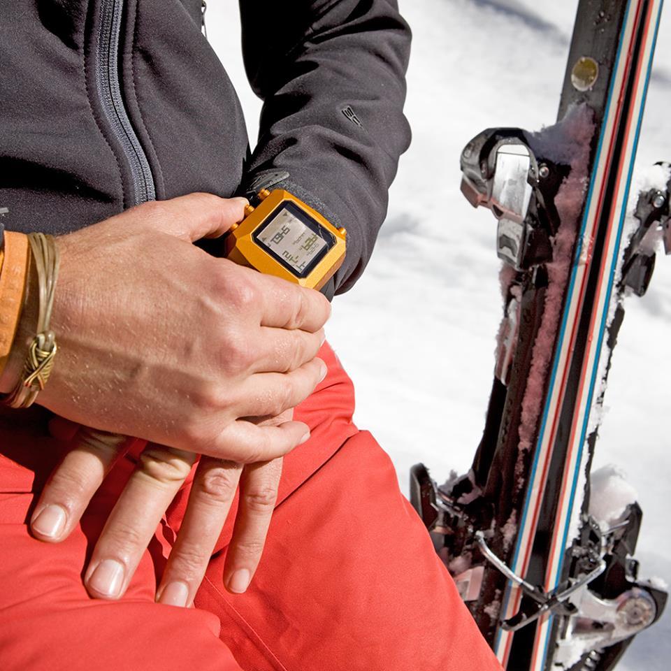 Linde Werdelin digital ski instrument The Rock