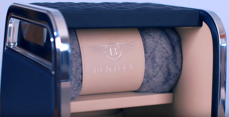 Linley Hamper by Mulliner - for Bentley Bentayga 2luxury2-Mulliner cashmere picnic rug