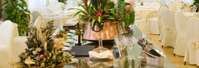 Location for weddings in Siena - find out why the Hotel Garden can be the perfect choice-restaurant