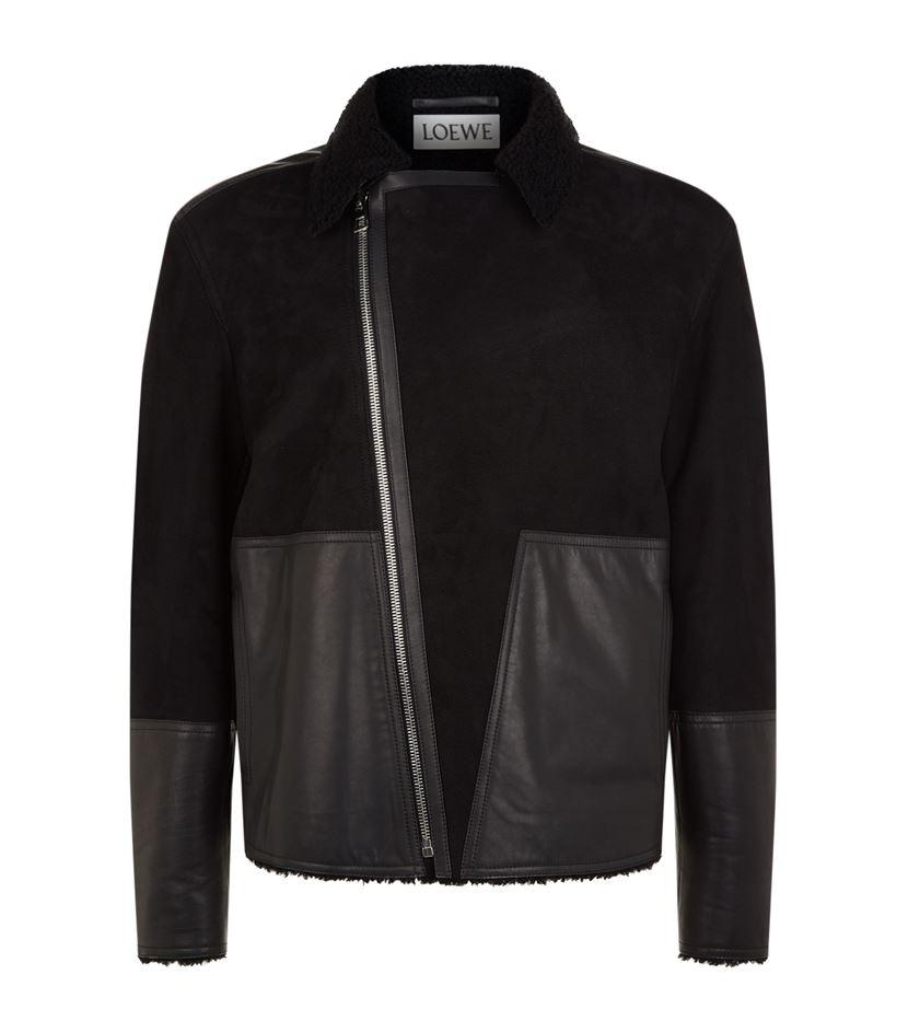 loewe-shearling-biker-jacket
