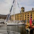London Yacht Jet & Prestige Car Show 2015-at St Katharine Docks.