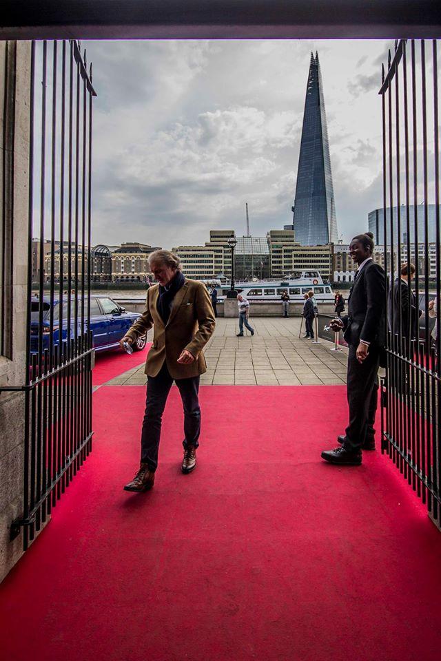 London Yacht Jet & Prestige Car Show 2015-entrance