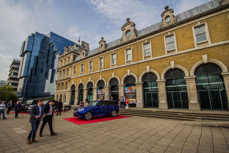 London Yacht Jet & Prestige Car Show 2015-exterior