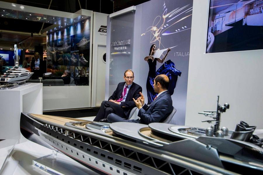 London Yacht Jet & Prestige Car Show 2015-fincantier