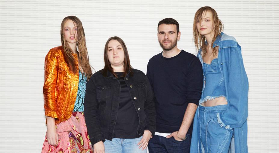London-based designers Marta Marques and Paulo Almeida of Marques'Almeida