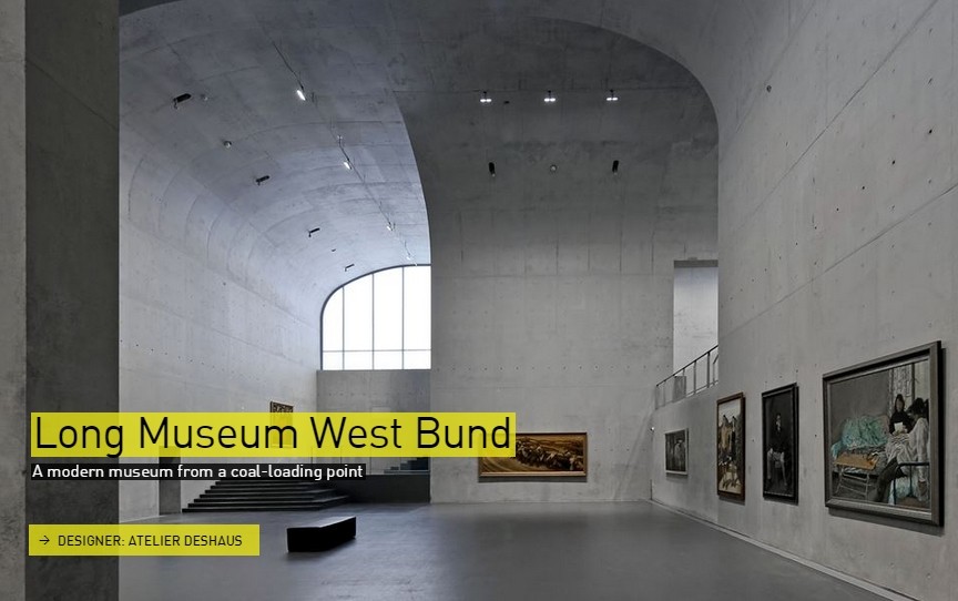 Long Museum West Bund- The Designs of the Year 2015 nominees @ Design Museum London