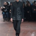 Look 1 from the Alexander McQueen Menswear AW15 show