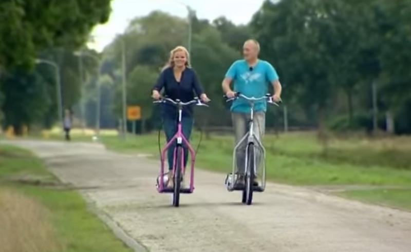 Lopifit - Electric Walking Bike-in action