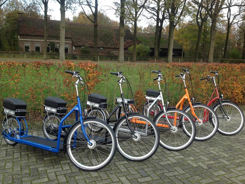 Lopifit - Electric Walking Bike-parking