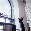Loris Cecchini took over Chaumet flagship, 12, place Vendôme - Waterbones installation by Loris Cecchini