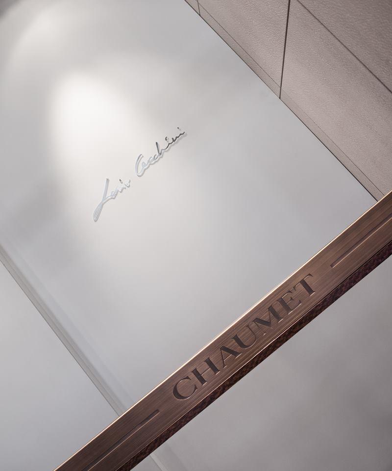 Loris Cecchini took over Chaumet flagship, 12, place Vendôme.