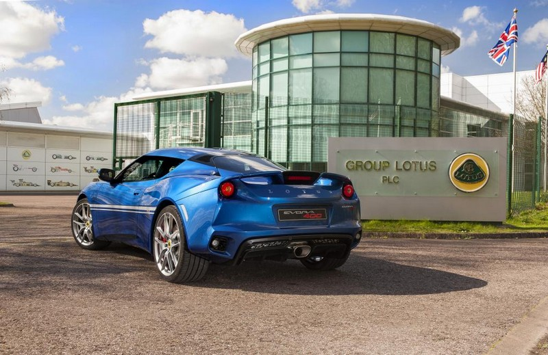 Lotus's new Hethel Edition Evora 400-2016 launch