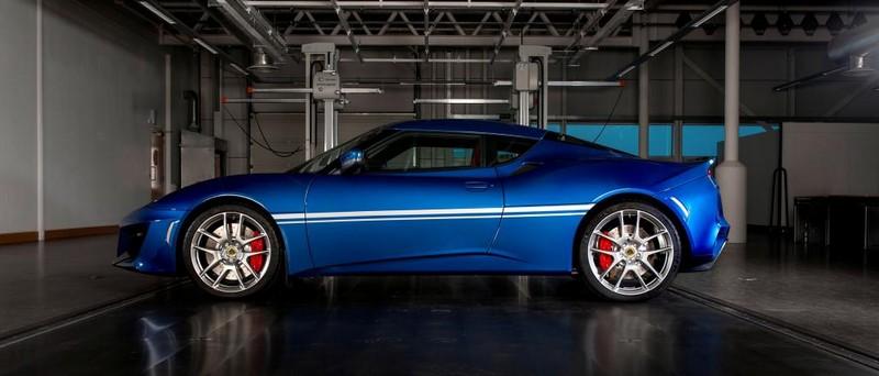 Lotus's new Hethel Edition Evora 400 laterla