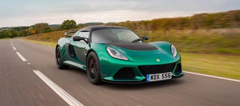 Lotus Exige Sport 350-green