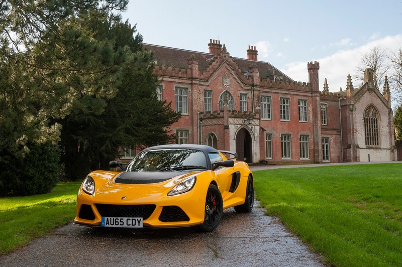 Lotus Exige Sport 350-yellow castle