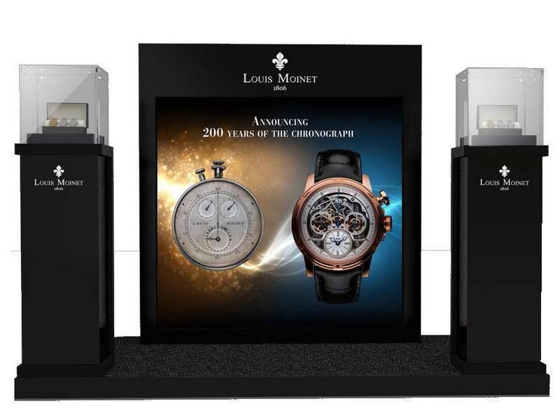Louis Moinet at 2015 Dubai Watch Week