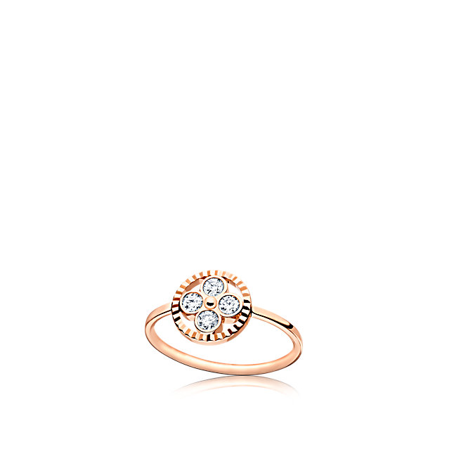 Louis Vuitton Monogram Sun Ring - fine jewellery collection