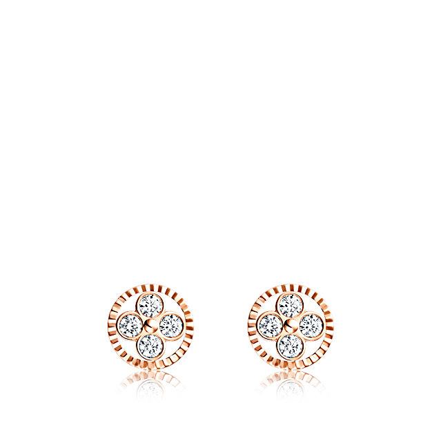 Louis Vuitton Monogram Sun Stud Earrings- fine jewellery collection