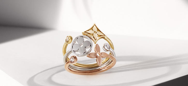 Louis Vuitton Monogram  fine jewellery collection