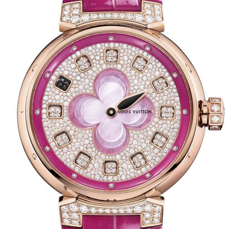 Louis Vuitton Tambour Color Blosson Spin Time-2016 model