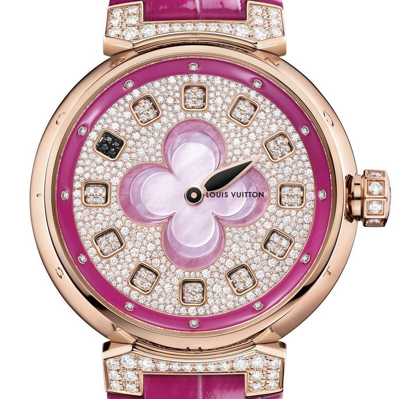 Louis Vuitton Tambour Color Blosson Spin Time-2016 model