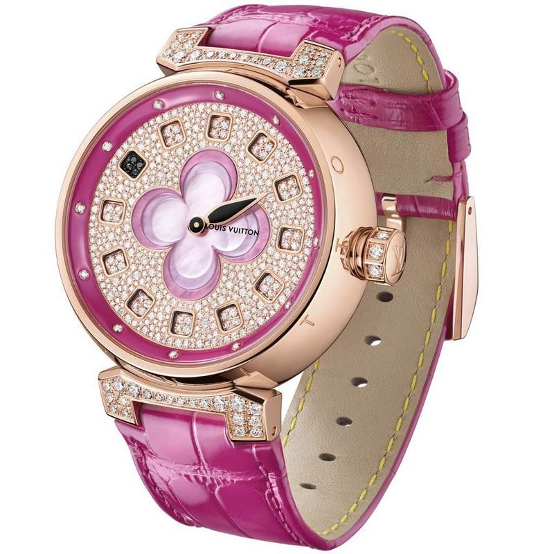 Louis Vuitton Tambour Color Blosson Spin Time