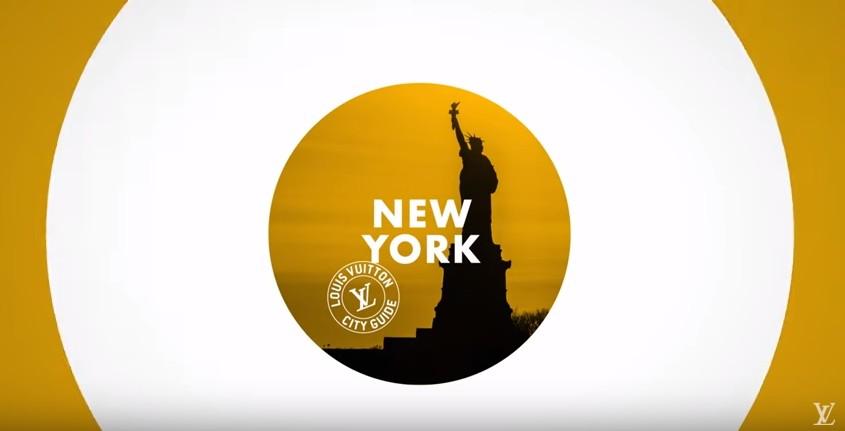 Louis Vuitton city guides app 2015-