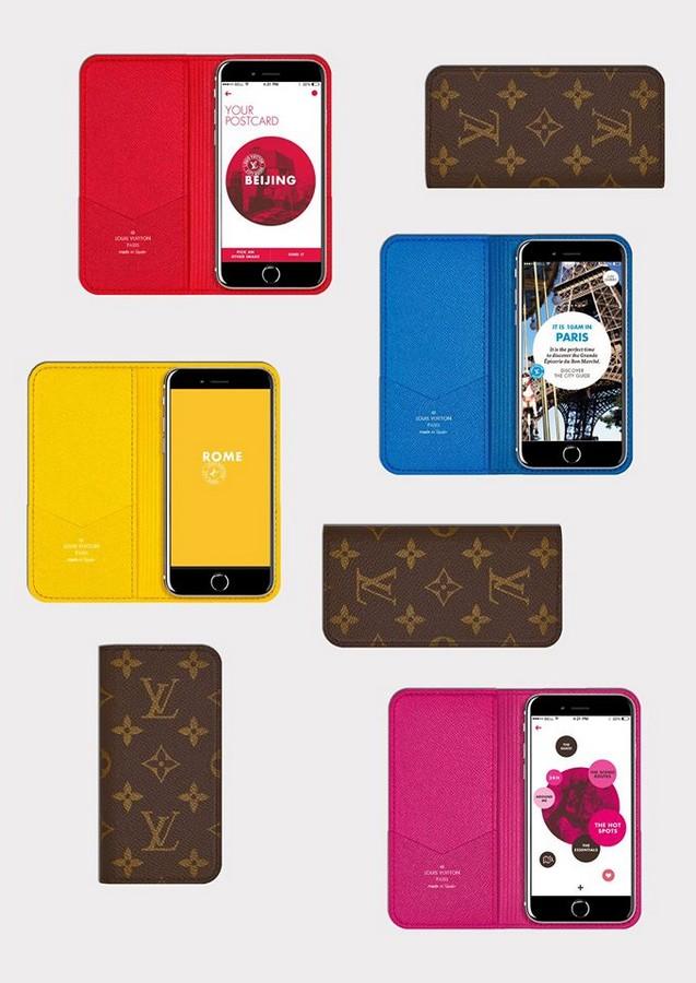 Louis Vuitton city guides app 2015--